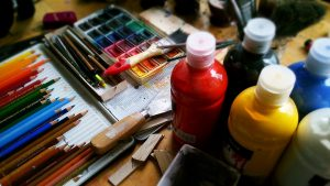 photo of oil paints